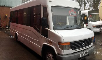 MERCEDES 814D VARIO UVG TREKA 28 SEATER BUS full