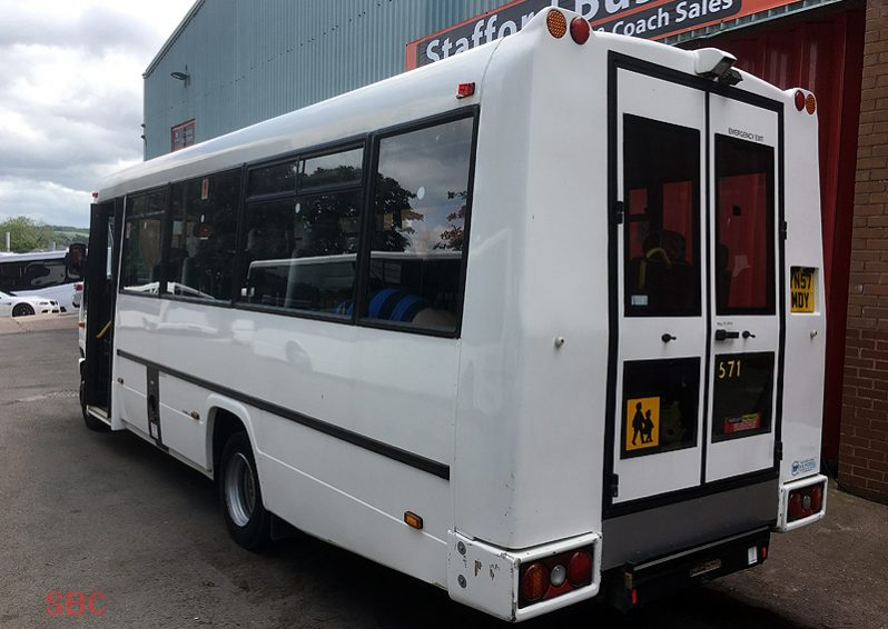 MERCEDES 813D VARIO PLAXTON BEAVER 2 26 SEAT ACCESSIBLE BUS full