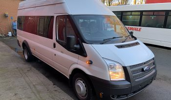 Ford Transit t430 high top 16 seat PSV bus full