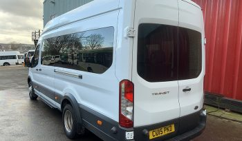 TRANSIT T460 ECONETIC TECH PSV 16 SEAT – 67 REG.BUS full