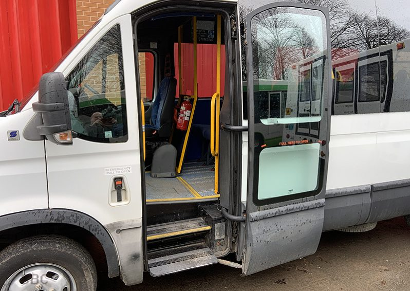 IVECO DAILY 45C15- 16 SEAT ACCESSIBLE PSV BUS full
