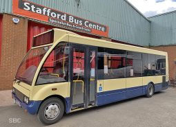 OPTARE SOLO M780 PSVAR 27 SEAT BUS WITH BELTS AND NEW ENGINE