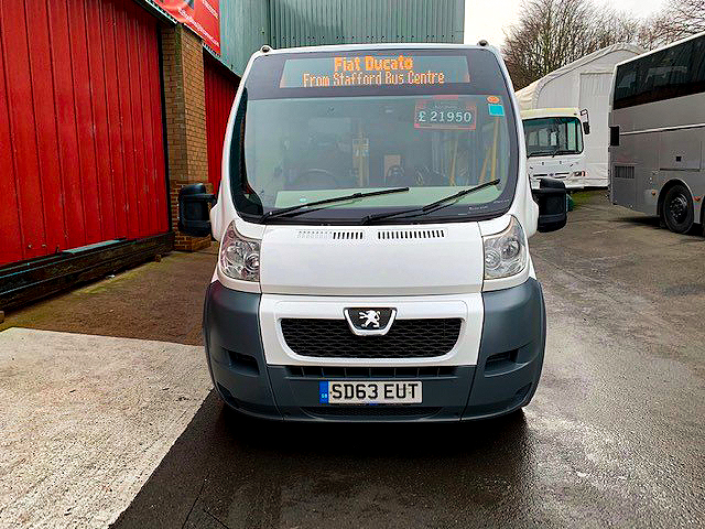 PEUGEOT BOXER /FIAT DUCATO 20 SEAT BUS IDEAL BUS SERVICES ETC full