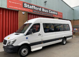 MERCEDES SPRINTER 513 CDI STANFORD COACHBUILT 16 SEAT ACCESSIBLE BUS