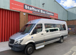 MERCEDES SPRINTER 514CDI WHEELCHAIR ACCESSIBLE 19 SEAT PSV BUS